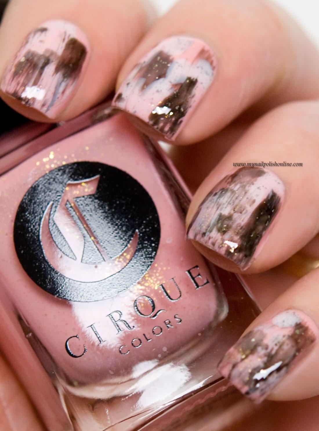 Dry brush strokes my nail polish online nail art dry brush strokes prinsesfo Images