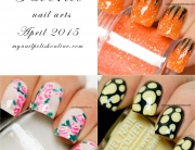 Favorite nail art for April 2015