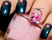 Nail Art with Roses