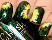 Nail Art - Sunflowers