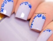 Midsummer nail art