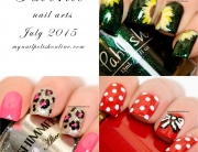 Favorite nail art - July 2015