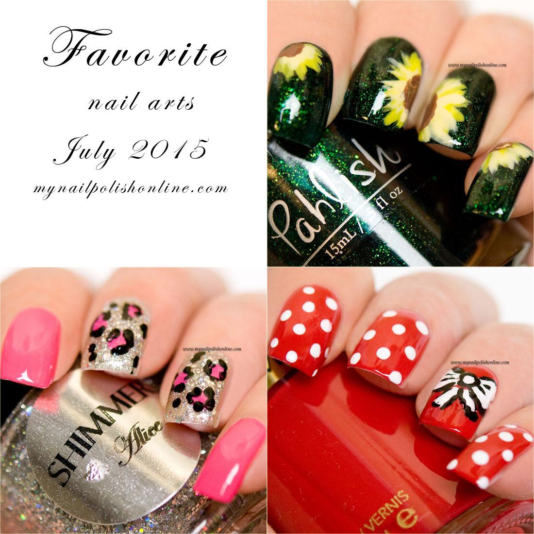Favorite nail art - July 2015