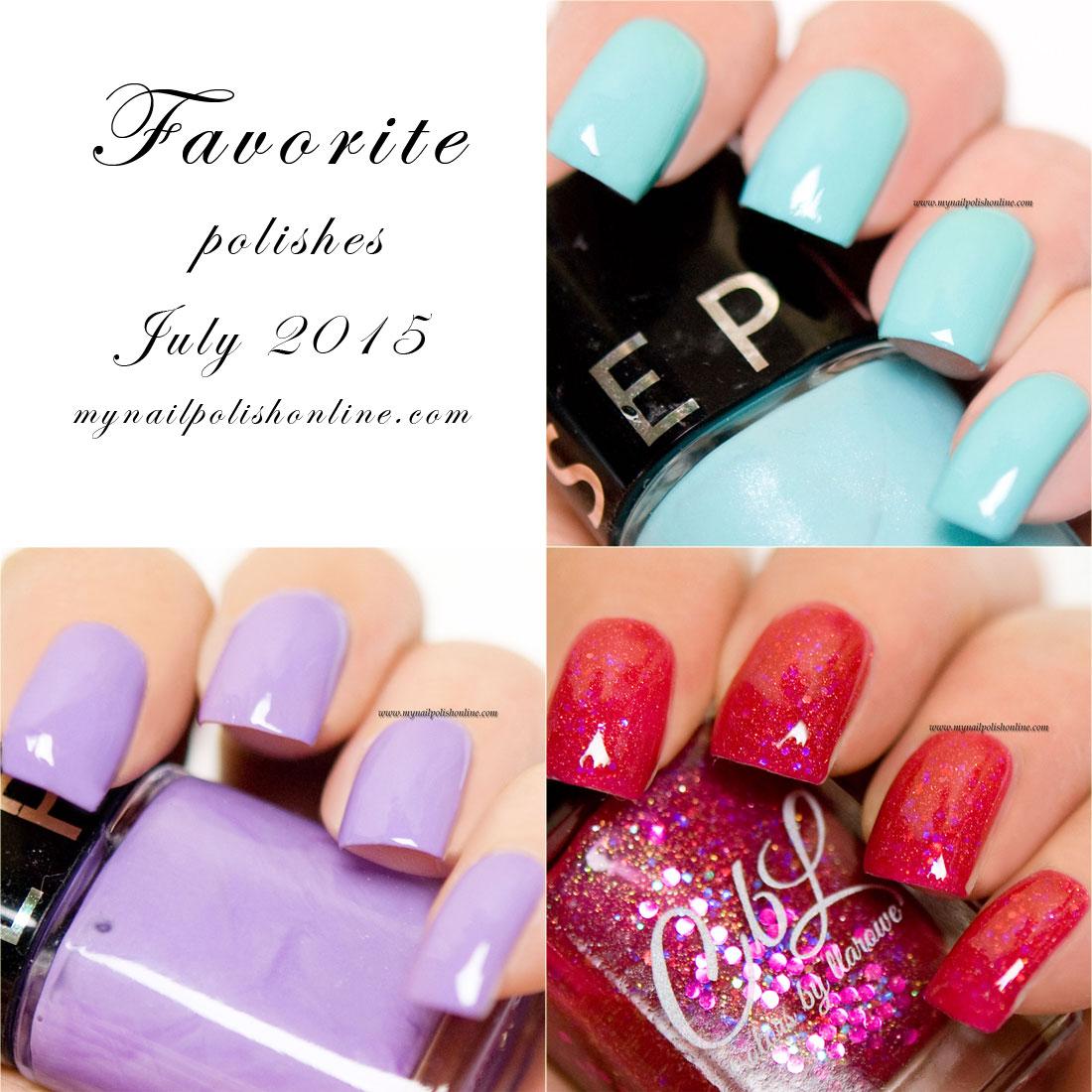 Favorite polishes July 2015
