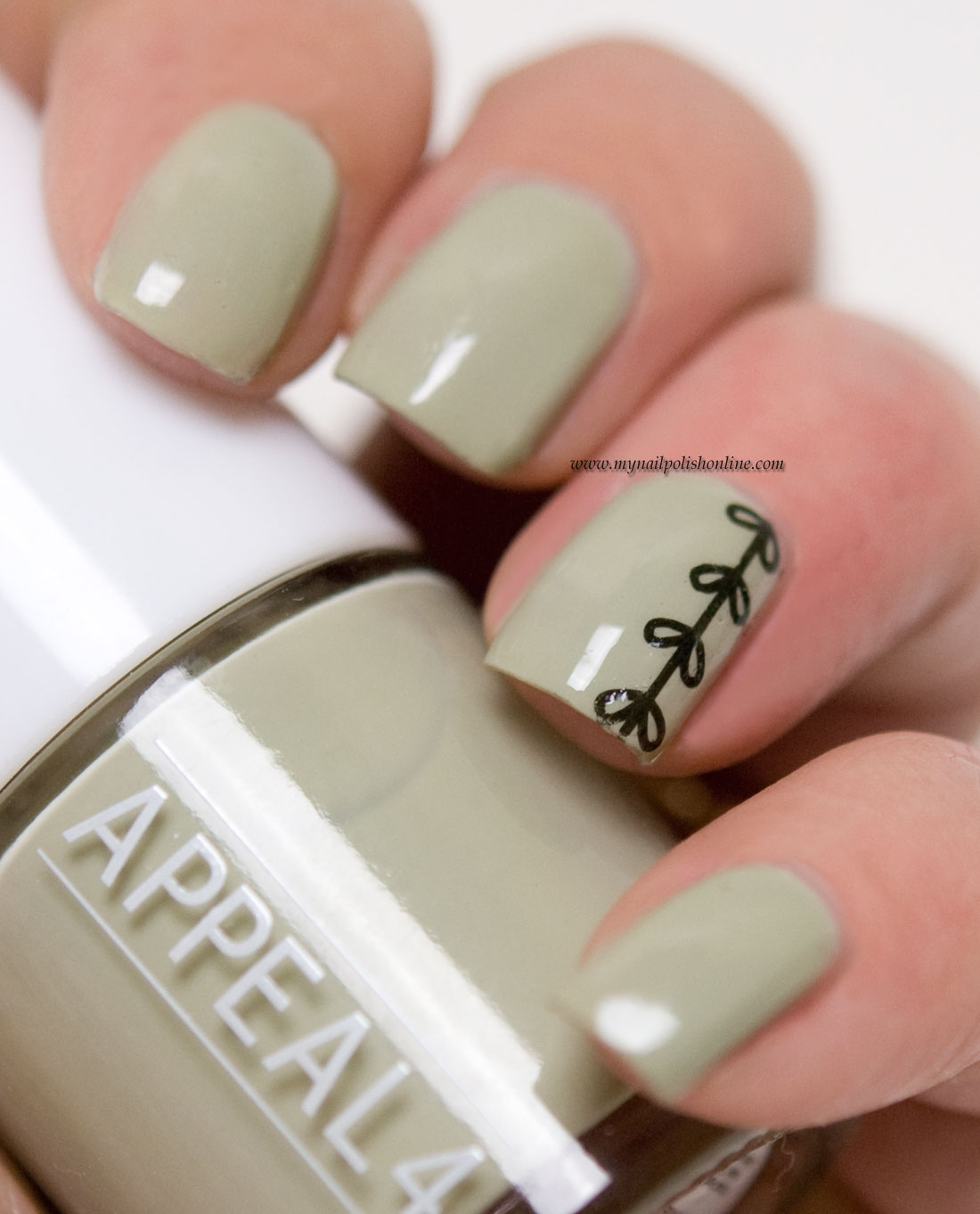 Subtle Nail Art with Hand Tattoos - My Nail Polish Online