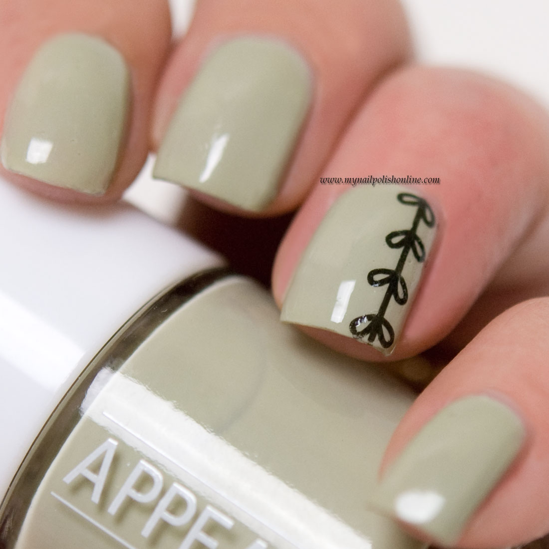 Subtle Nail Art With Hand Tattoos My Nail Polish Online