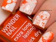 31DC2015 - Day2 Orange Nails