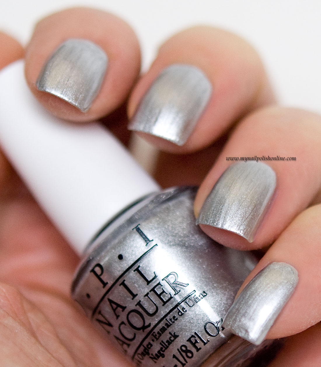 OPI - Silver Canvas Undercoat