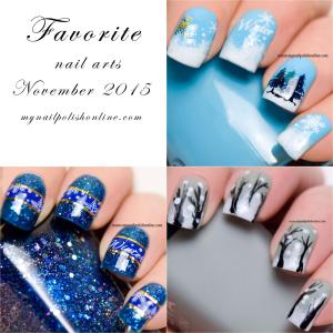 Favorite Nail Art - November 2015