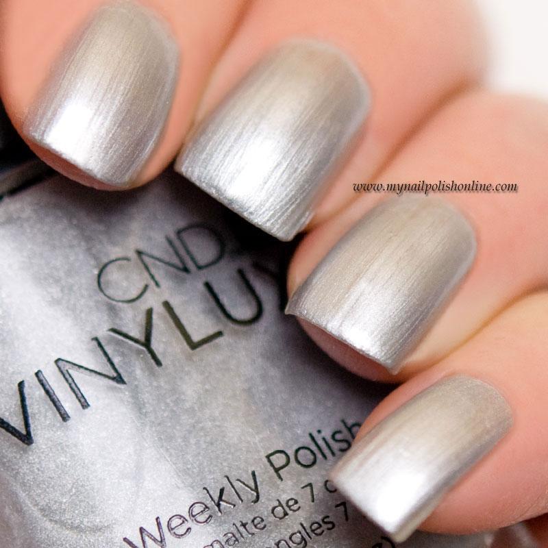 CND - Silver Chrome - My Nail Polish Online