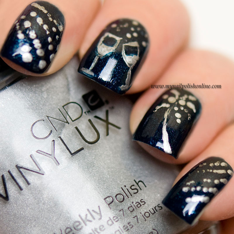 Guest post at Eleven.se - suggestions for New Year\'s Eve manicures ...