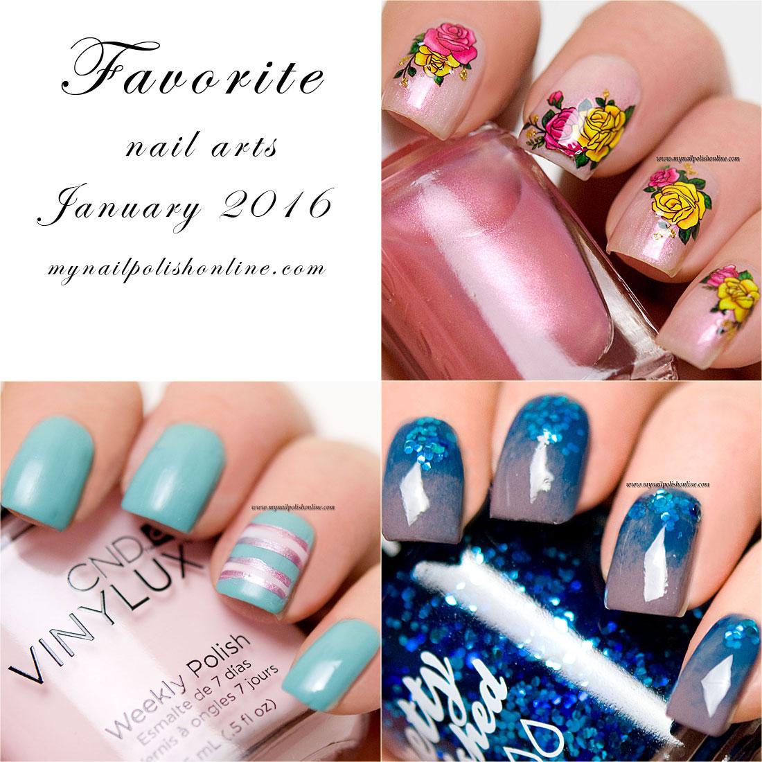 Favorite Nail Art - January 2016