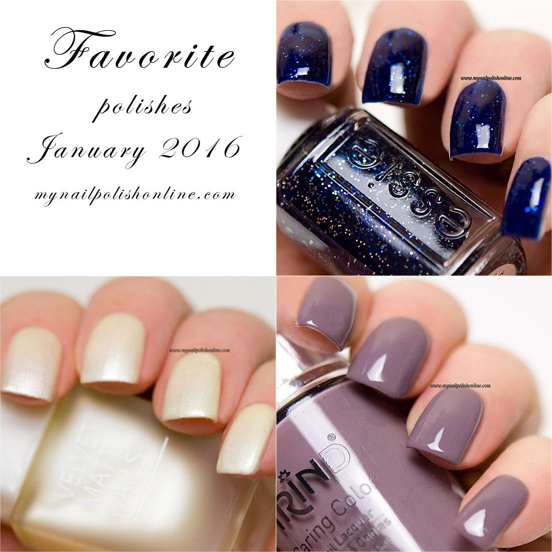 Favorite polishes January 2016