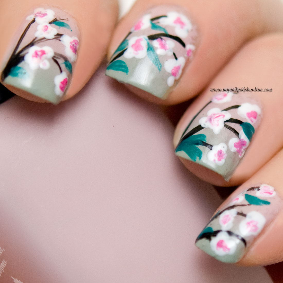 Nail Art - Flowers - My Nail Polish Online