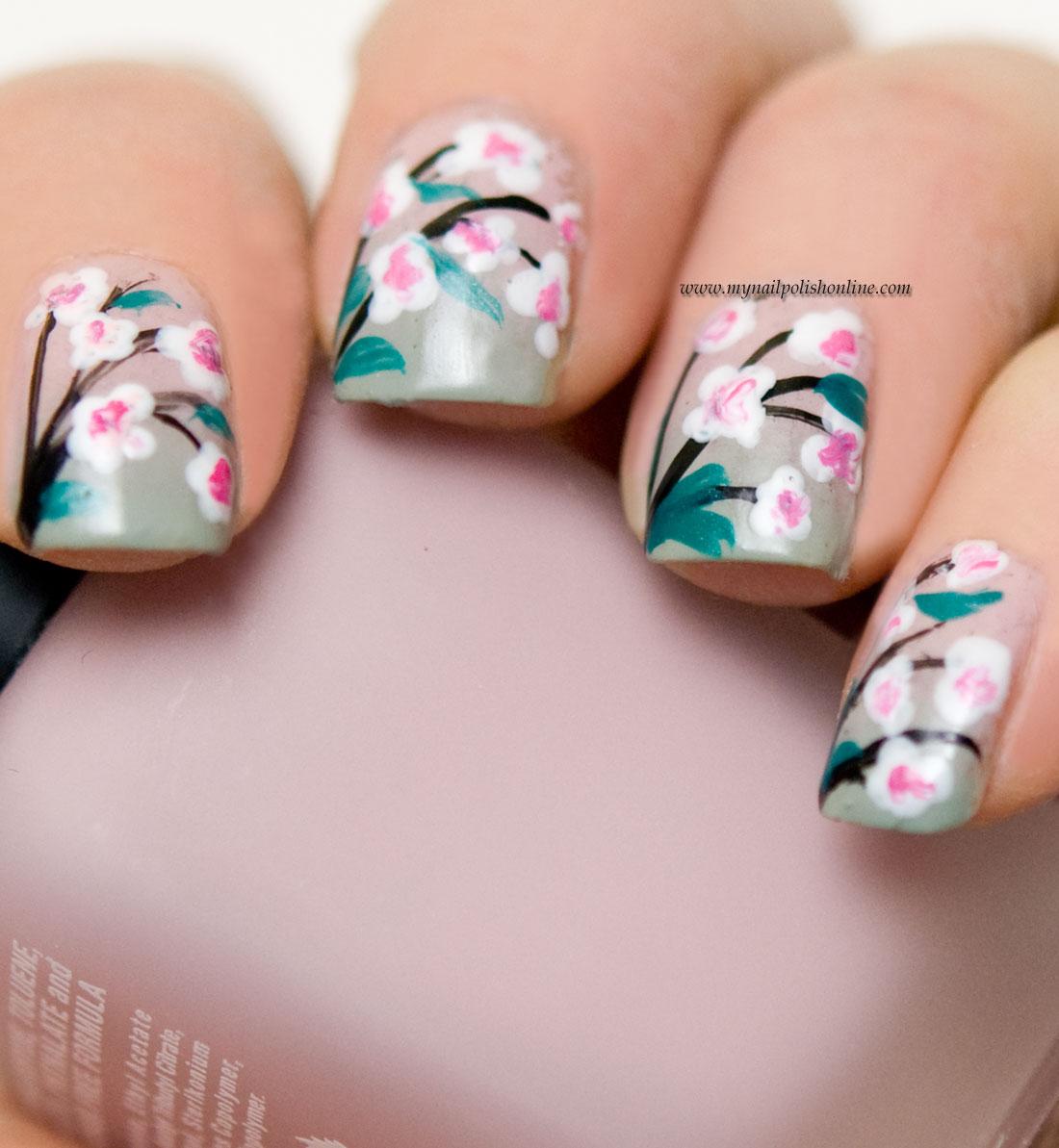 Nail Art - Flowers - My Nail Polish Online