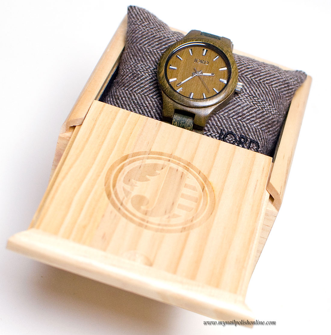 The watch in the box