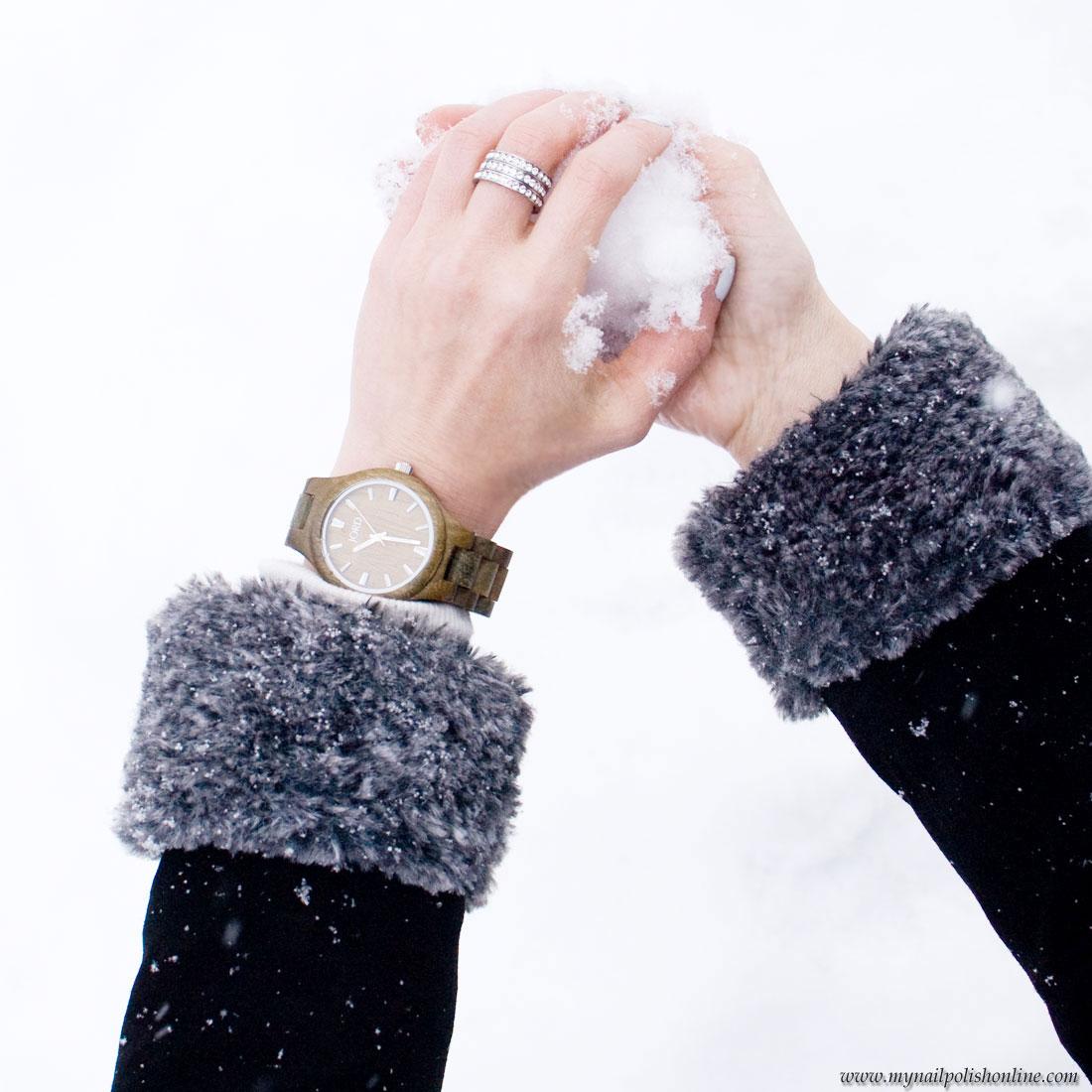 Watch the snow