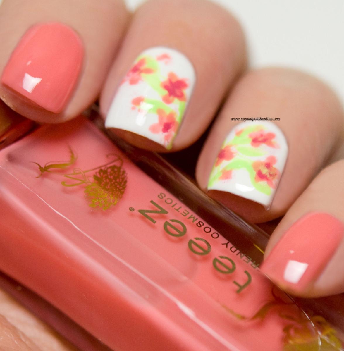 Flower Nail Art: My Nail Polish Online