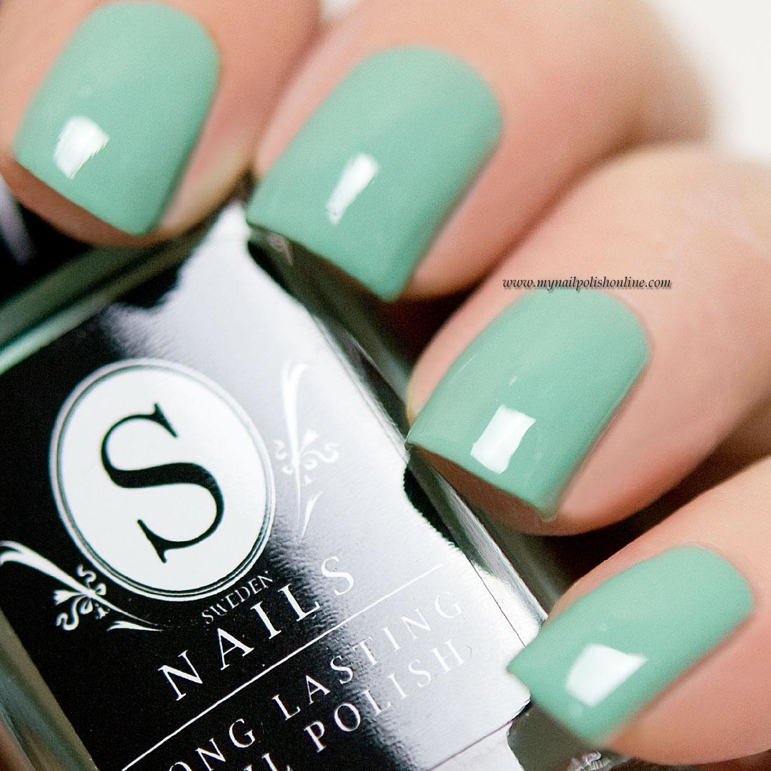 Sweden Nails – Green Tea | | My Nail Polish Online