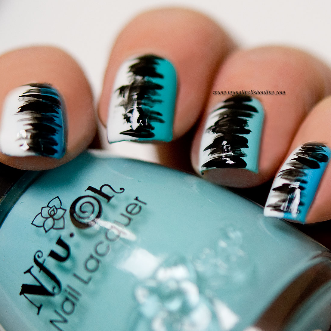 Abstract Nail Art My Nail Polish Online