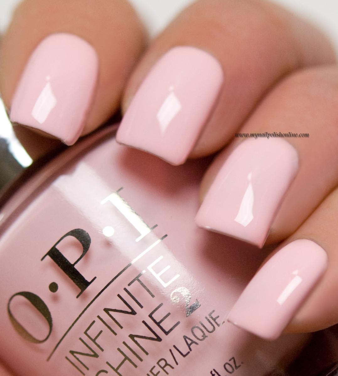 Pink Nail Polish Video: Pretty Pink Perseveres