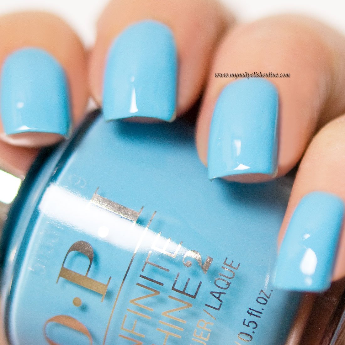 OPI Infinity Shine - To Infinity and Blue-yond - My Nail Polish Online