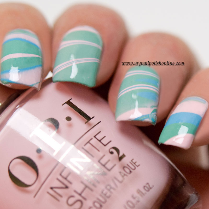 Guest post at Eleven.se with water marbling