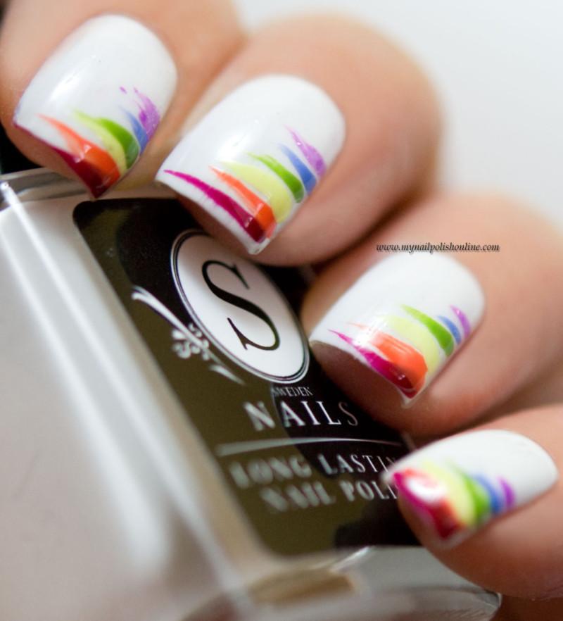 31dc2016 Rainbow Nails My Nail Polish Online