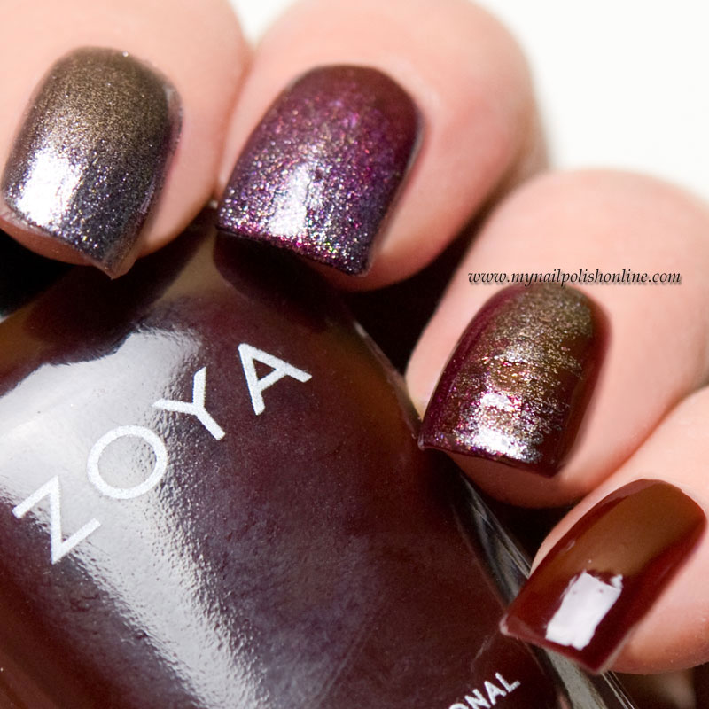 Guest post at Eleven.se with Zoya Urban Grounge