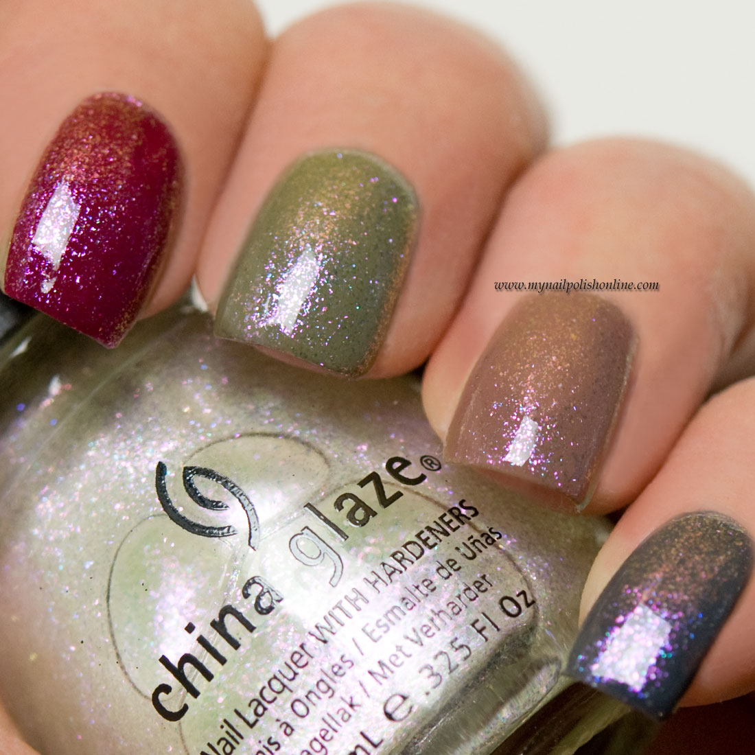 China Glaze - Travel in color-2