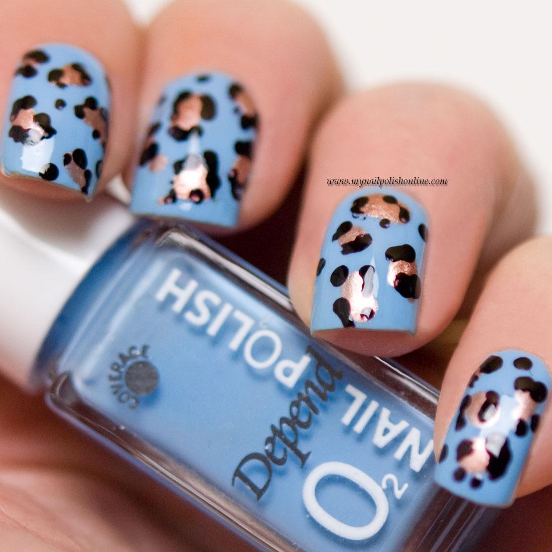 Leopard print - Nail art