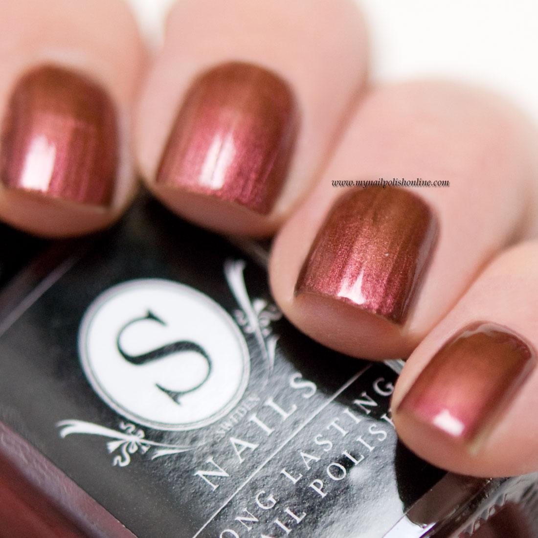 Sweden Nails - Metallic Plum