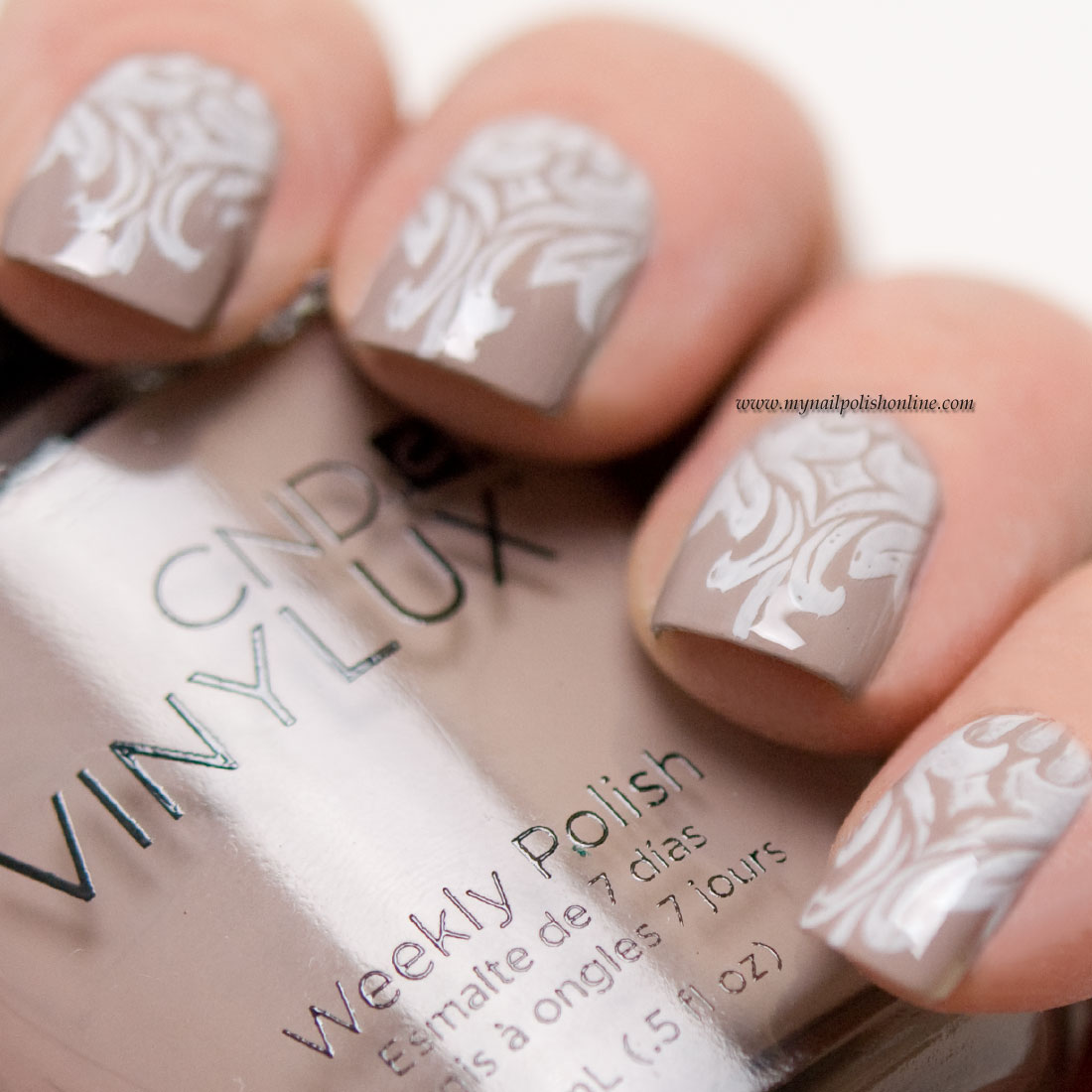 CND Vinylux Unearthed – swatches and stamping