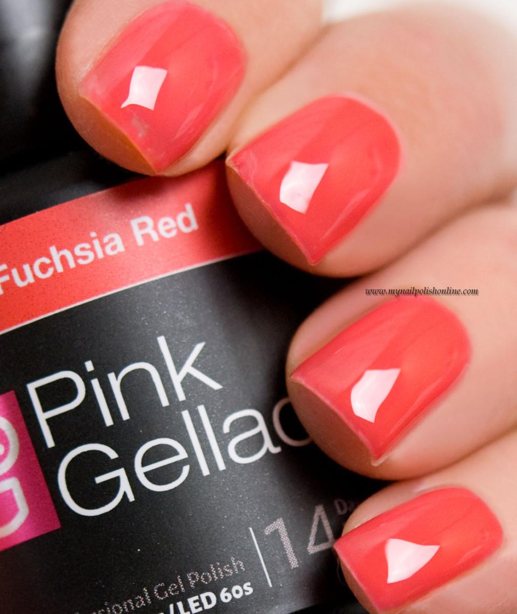 Pink Gellac Fuchsia Red