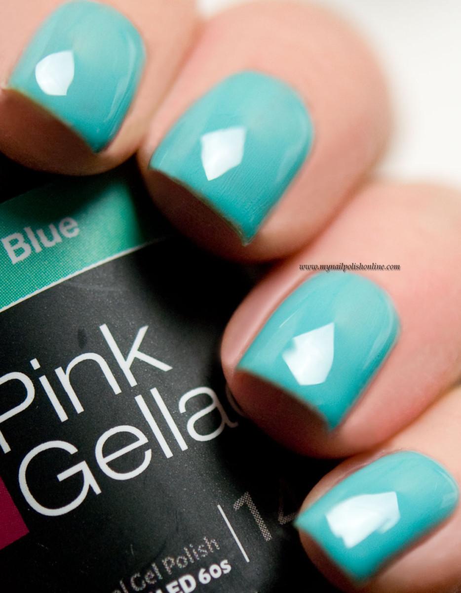 Pink Gellac Tiffany Blue