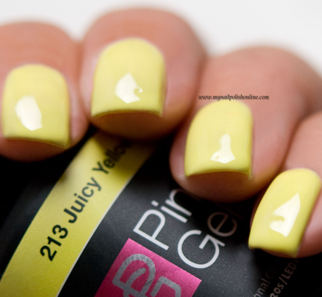 Pink Gellac Juicy Yellow
