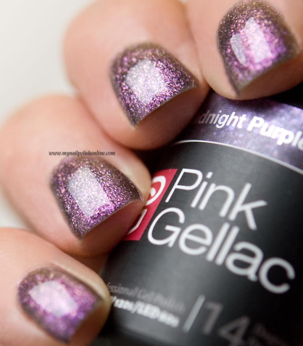 Pink Gellac Midnight Purple