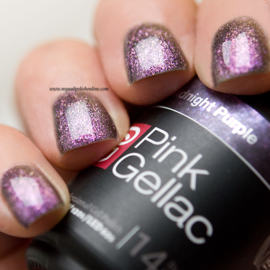 Pink Gellac Midnight Purple