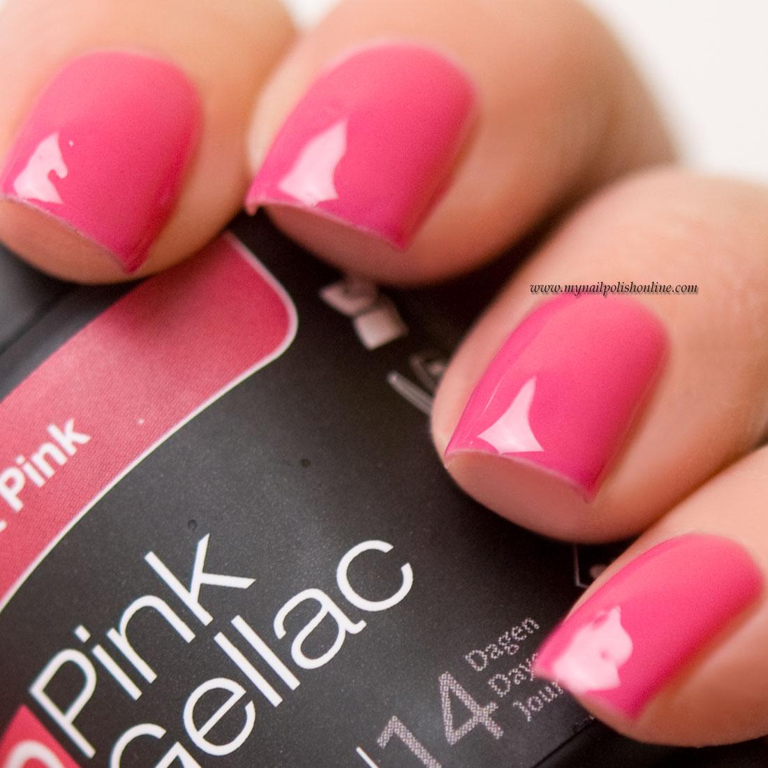 Pink Gellac Sorbet Pink