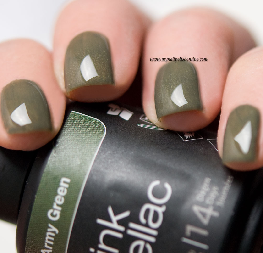 Pink Gellac Army Green