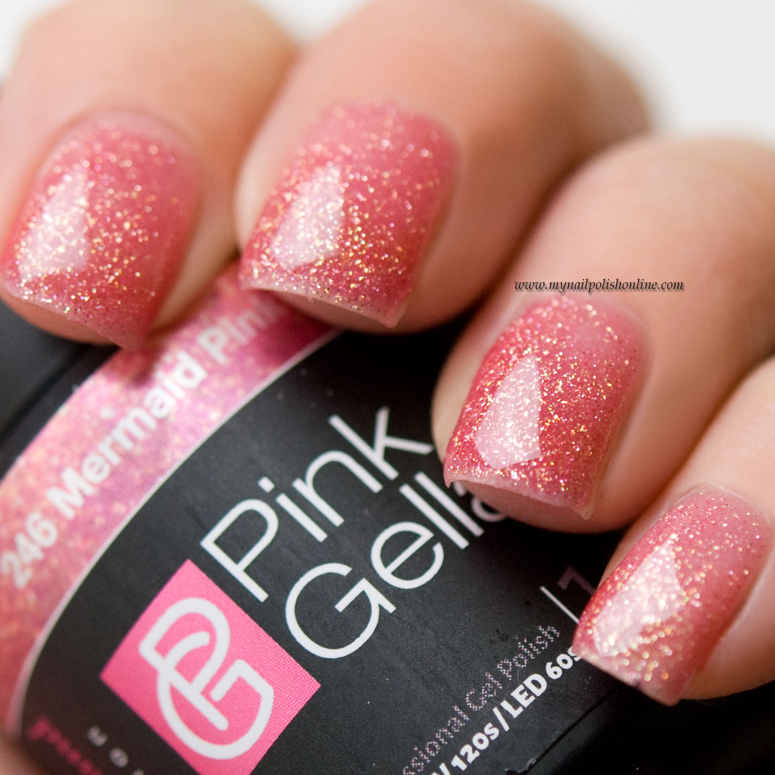 Pink Gellac Mermaid Pink