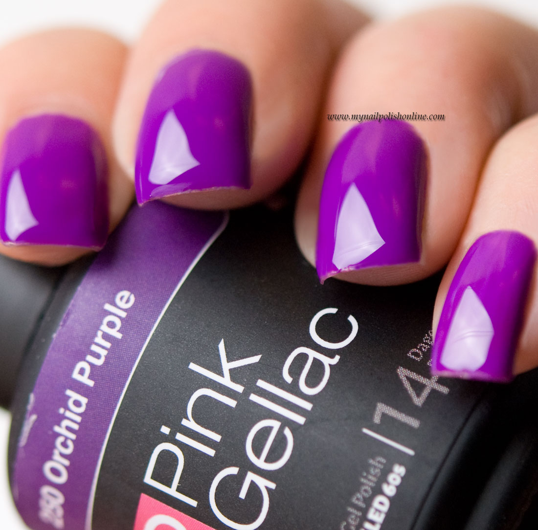 Pink Gellac Orchid Purple