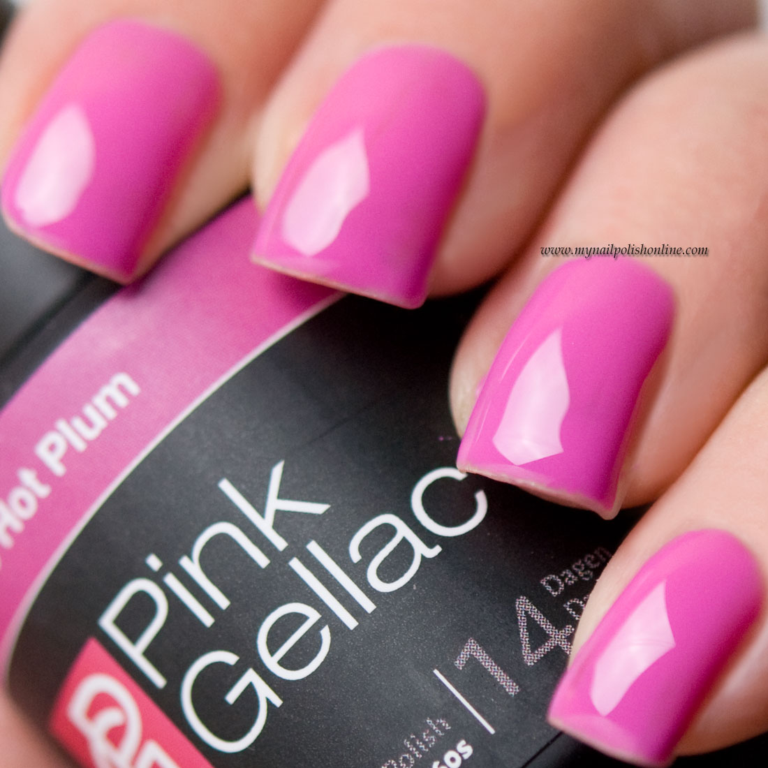 Pink Gellac Hot Plum