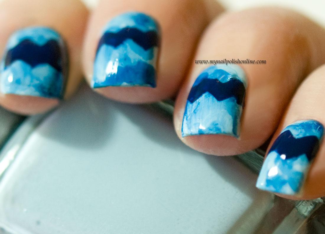 Nail Art - Chevrons
