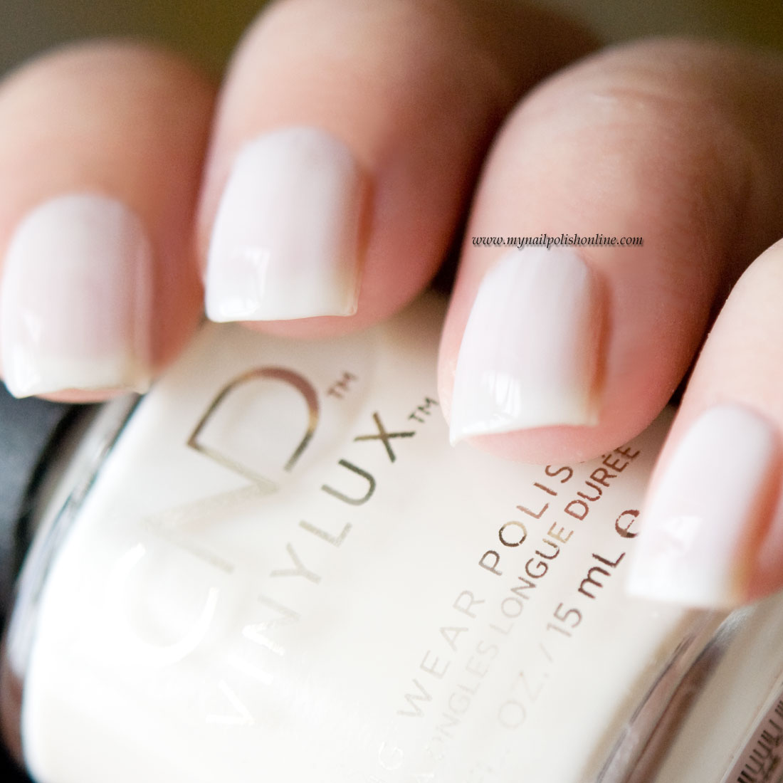CND Vinylux White Wedding