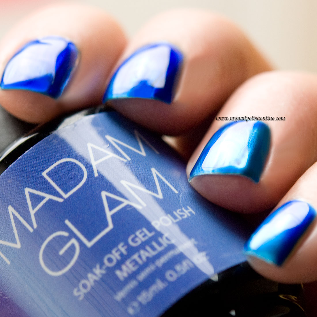 Madam Glam – Metallic Gels Collection